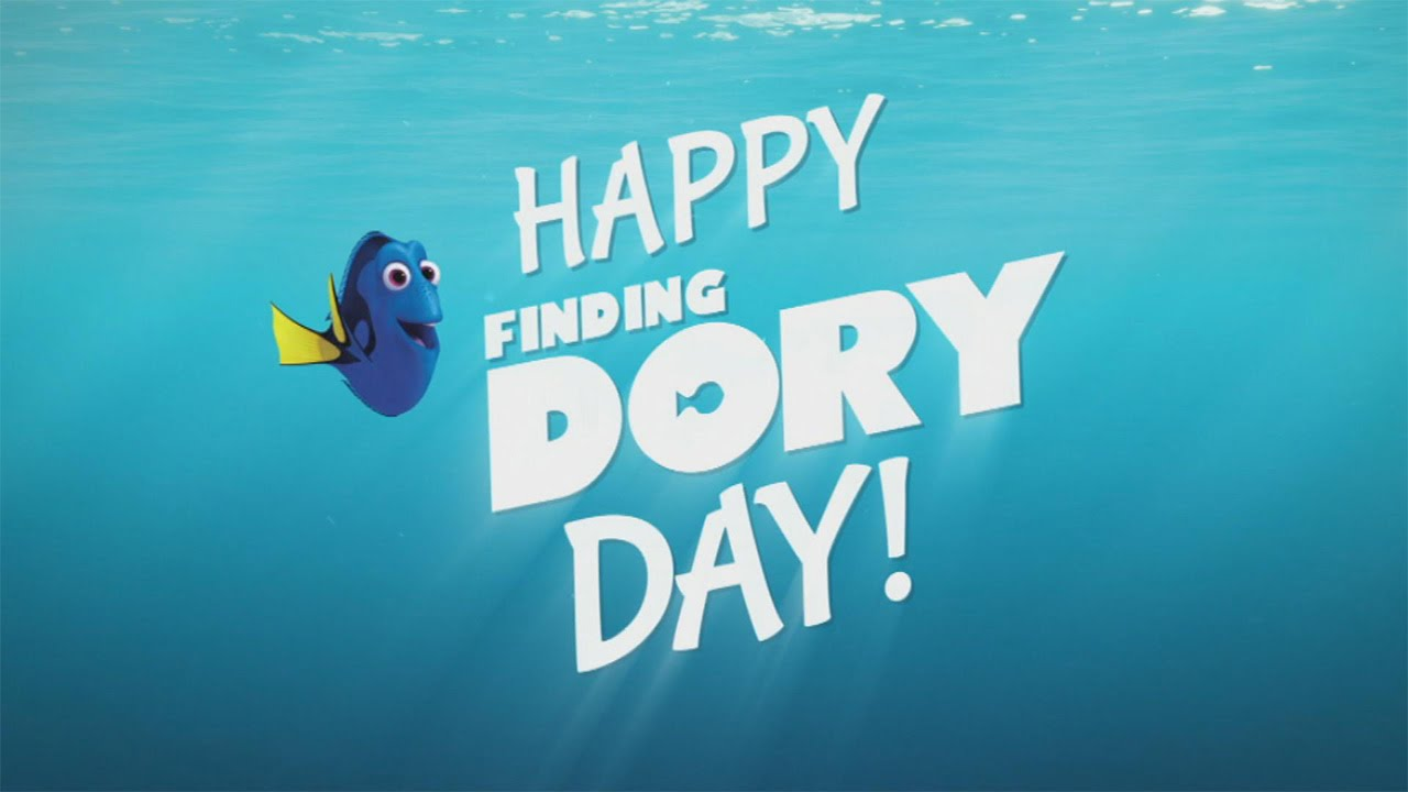 Happy Finding Dory Day!.