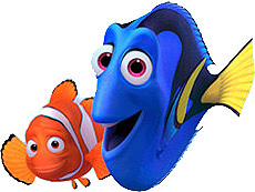 Finding Nemo Clipart.