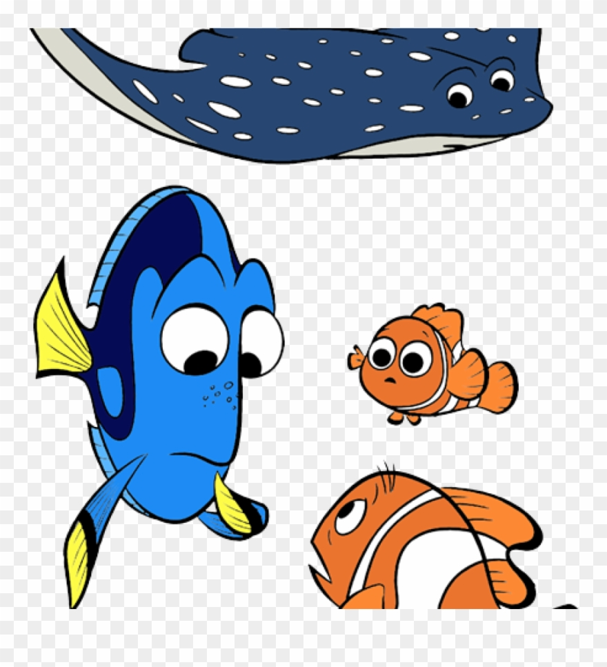 Finding Nemo Clipart Finding Nemo Characters Clipart.
