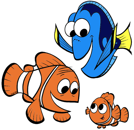 Nemo And Dory Clipart.