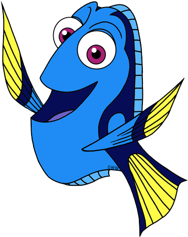 Free Finding Dory Silhouette, Download Free Clip Art, Free.