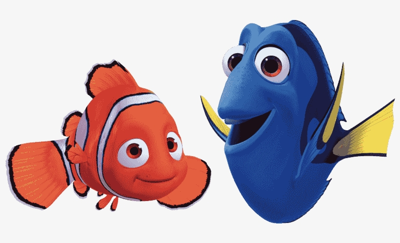 Nemo And Dory Png.
