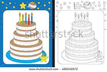Sheet Cake Stock Vectors, Images & Vector Art.