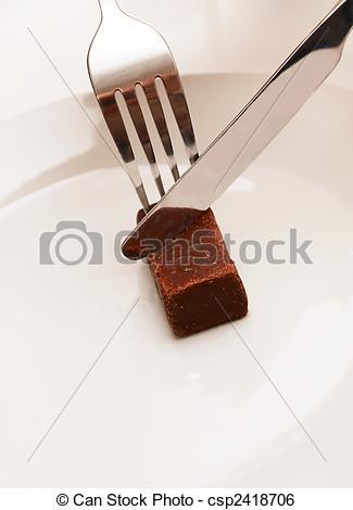 Stock Image of Fine chocolate.