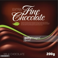 Fine Chocolate stock vectors.