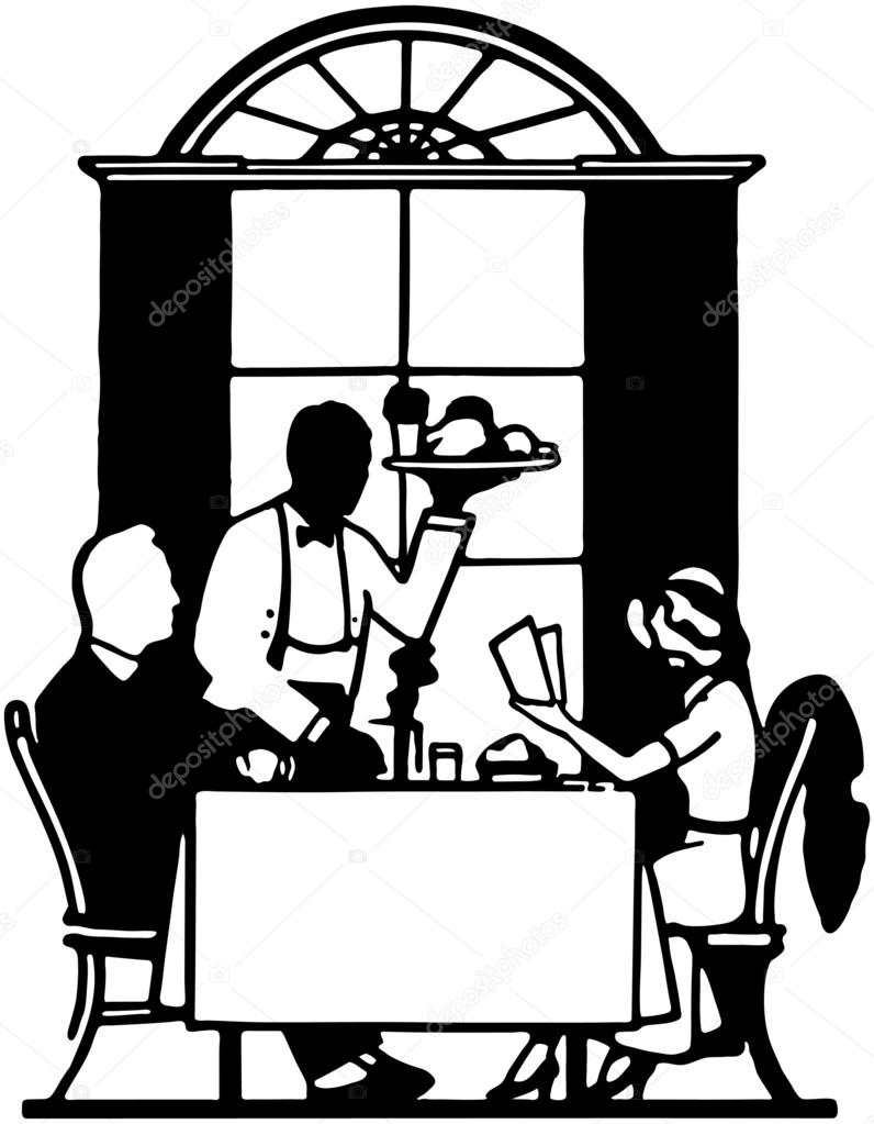 Clipart: dining.