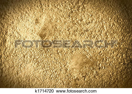 Stock Photography of fine gold metal grunge texture k1714720.