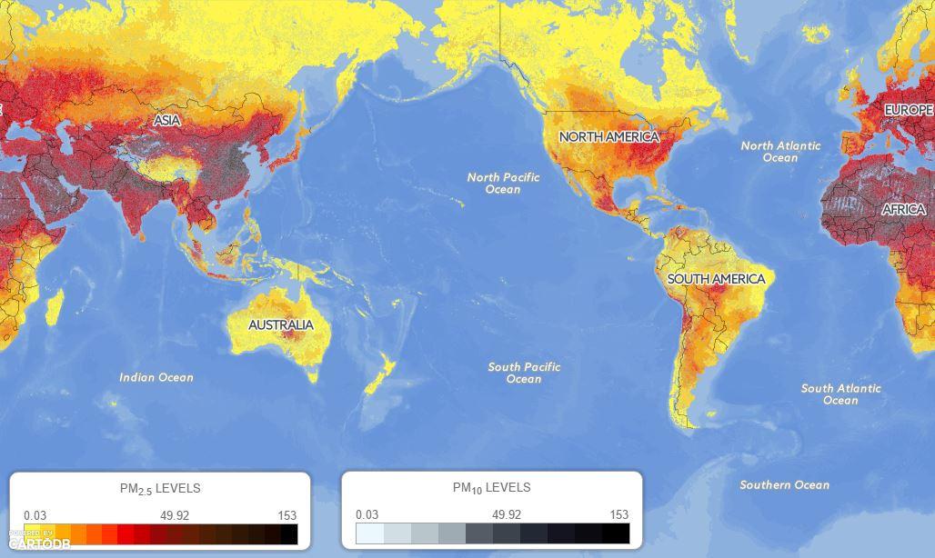 Fine particle pollution clipart #15