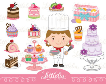 Fine pastry clipart - Clipground