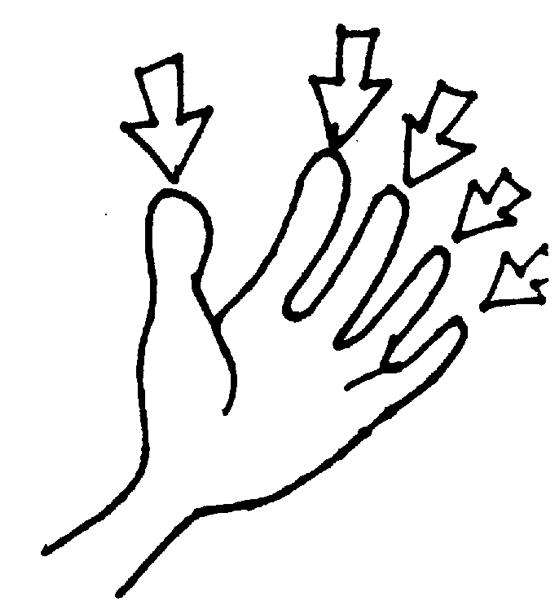 Finger Clipart.
