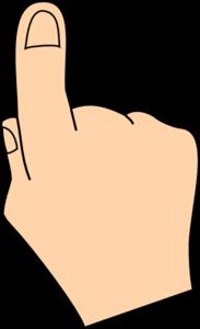 Finger Clipart & Finger Clip Art Images.