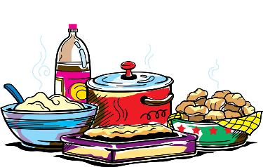 Food And Fellowship Clipart.