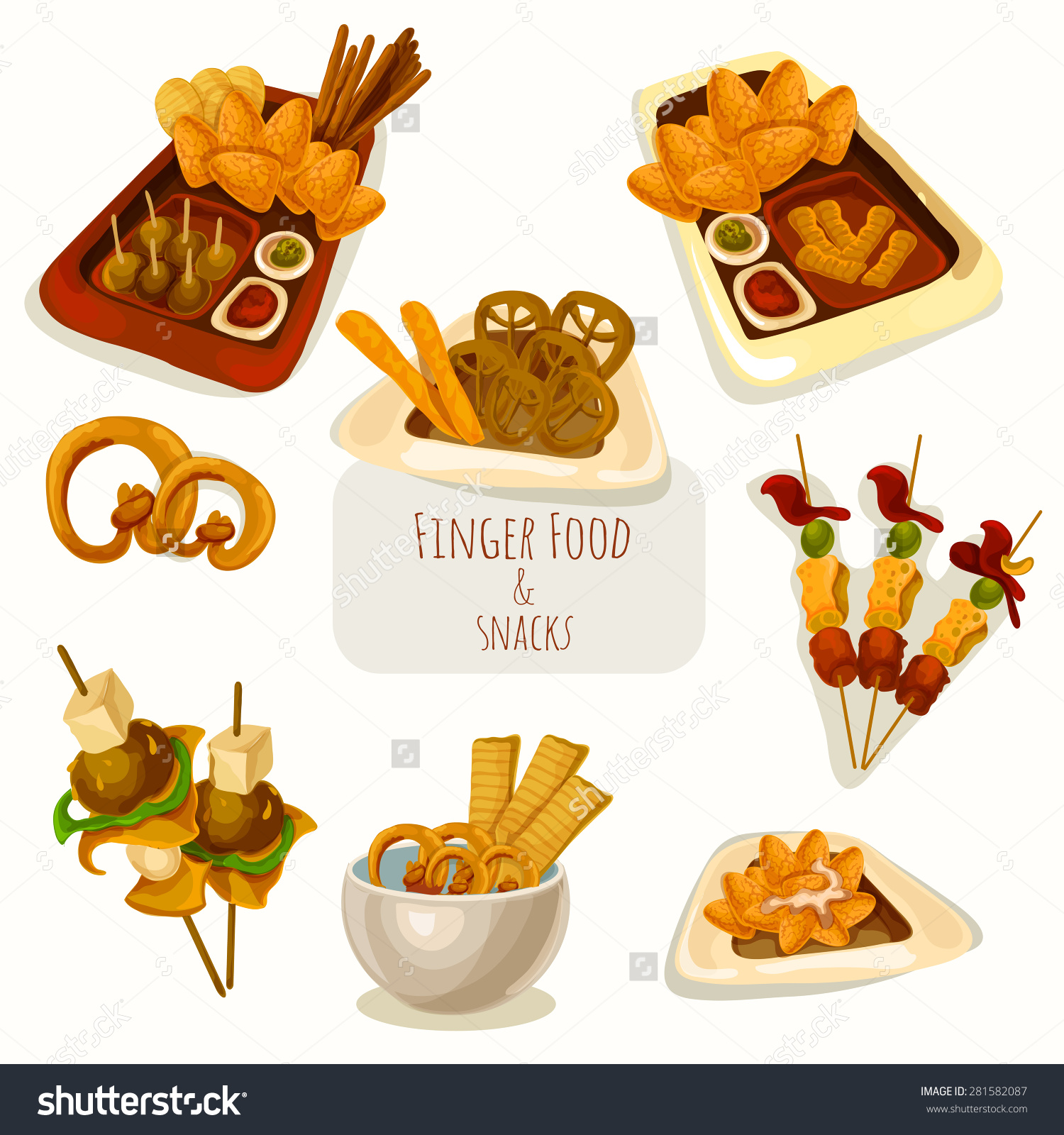 Finger food clipart free.