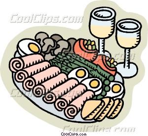 Finger Food Clipart.