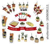 Finger Food Clipart.