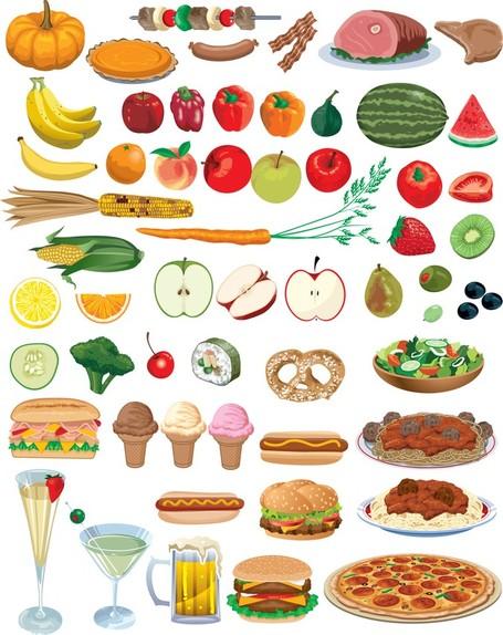 Finger Food Clip Art, Vector Finger Food.
