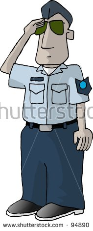 Clipart Illustration Of An Air Force Man.