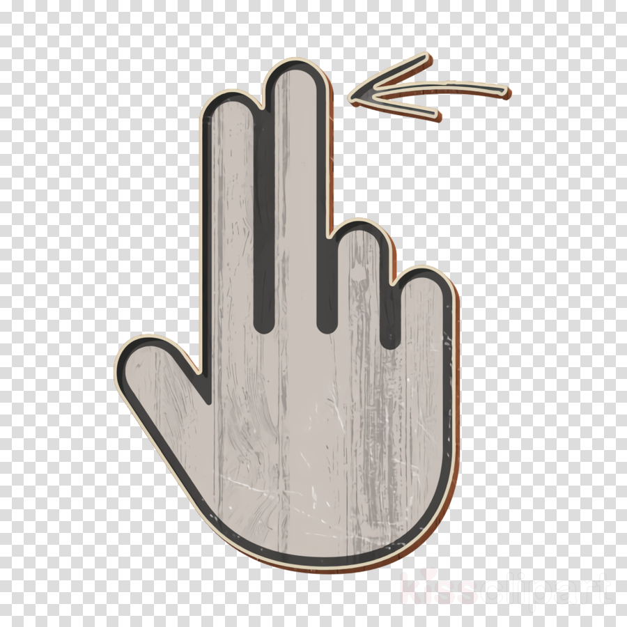finger icon gesture icon hand icon clipart.