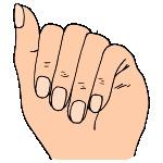Fingernail Clipart.