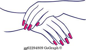 Finger Nails Clip Art.