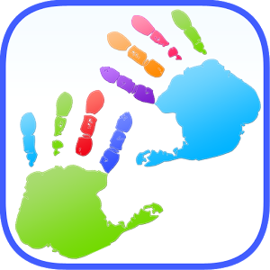 Kids Finger Painting Art Game.