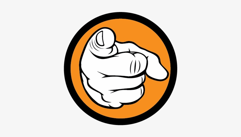 Pointing Finger At You Png Clipart Freeuse Download.