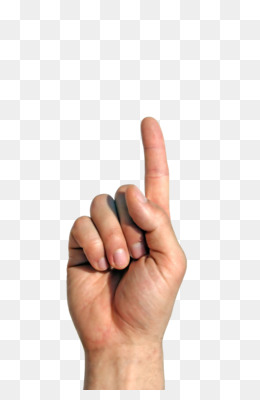 Finger Pointing PNG.