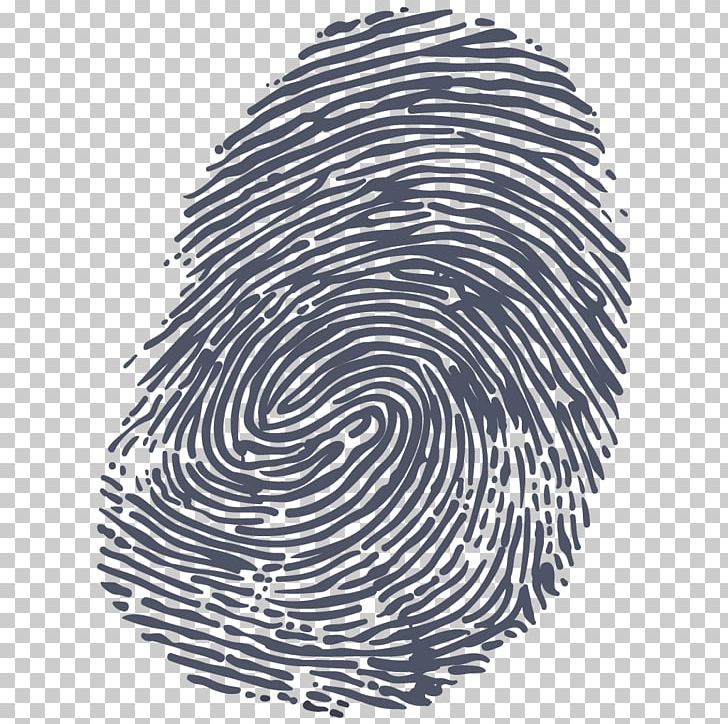 Fingerprint Hand PNG, Clipart, Black And White, Circle, Clip Art.
