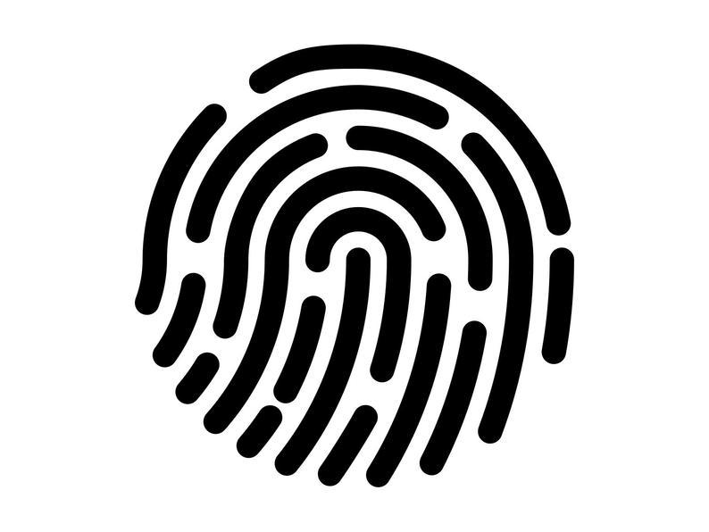 Fingerprint Svg, Finger Print Clipart, Detective Cutting File, Fingerprint  Digital Download, Fingerprint Clip Art Svg Dxf Png.