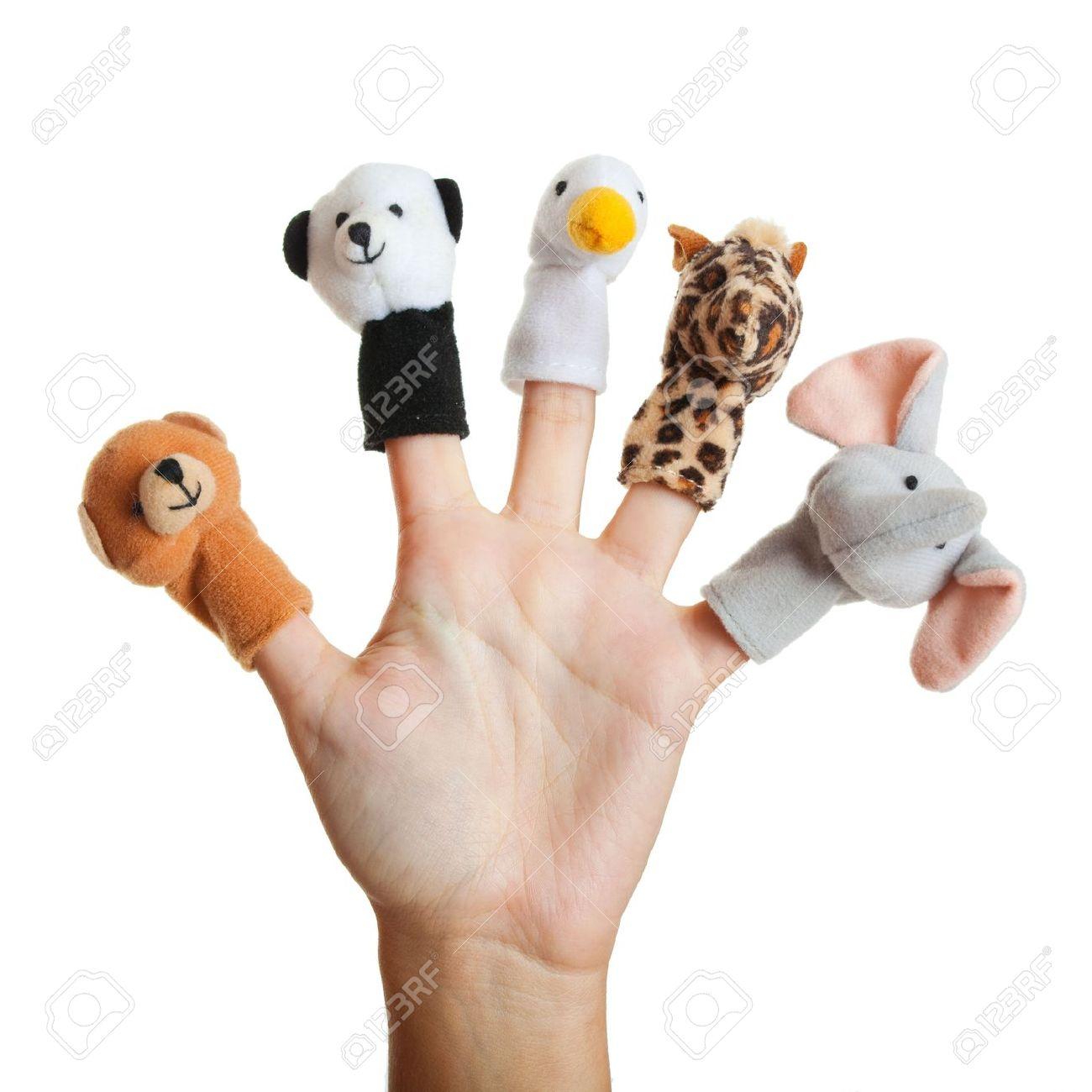 Finger Puppet Clipart.
