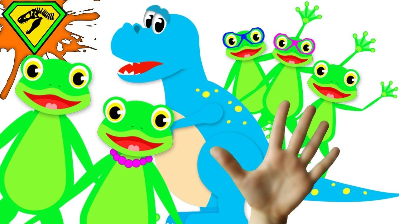 Frog Finger Family Song.