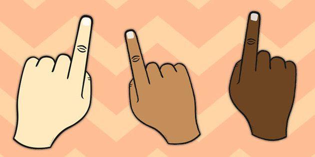 Finger Spacing Hand.