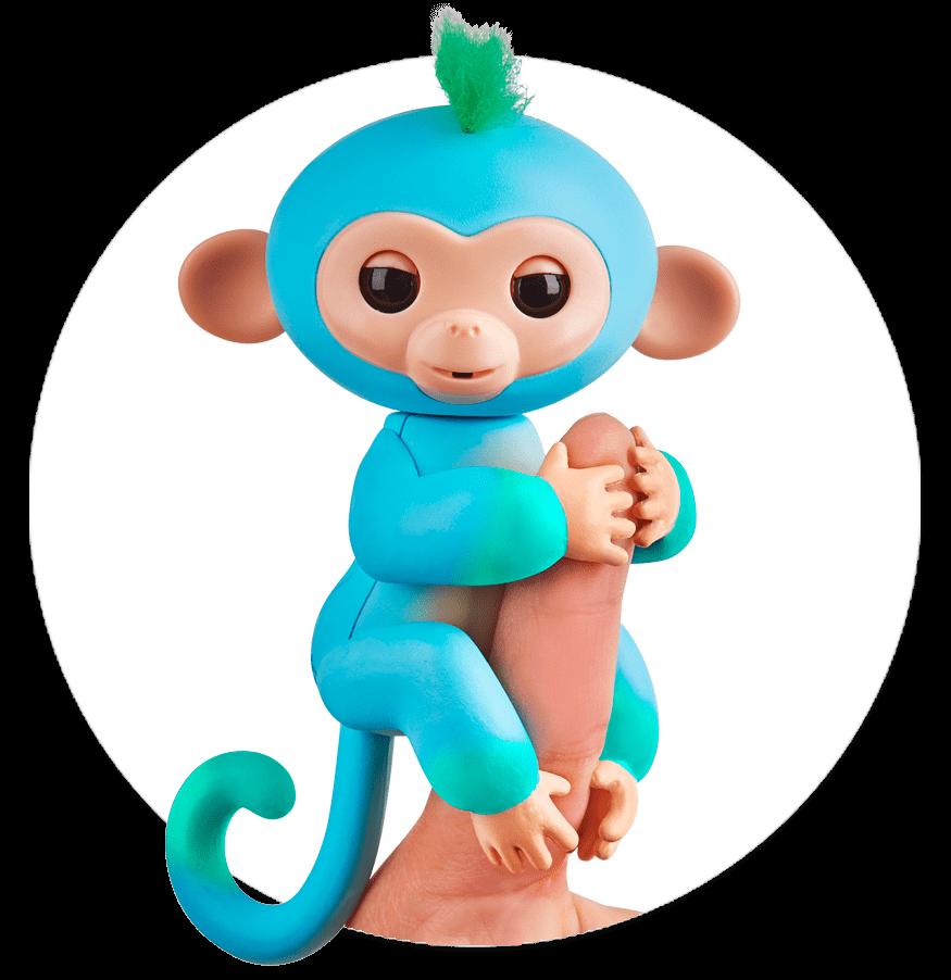 Fingerlings Monkey 2tone Ombre Charlie.