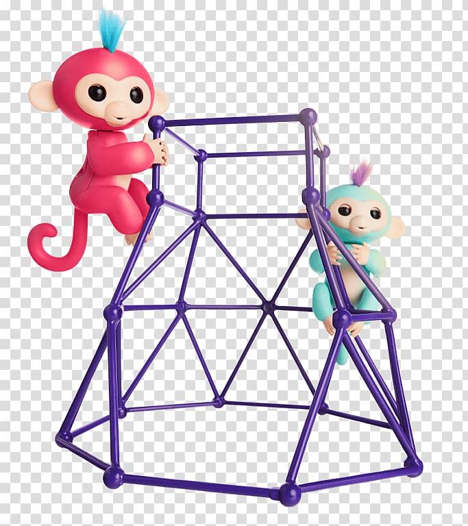 Monkey WowWee Robot Jungle gym Fingerlings, monkey.
