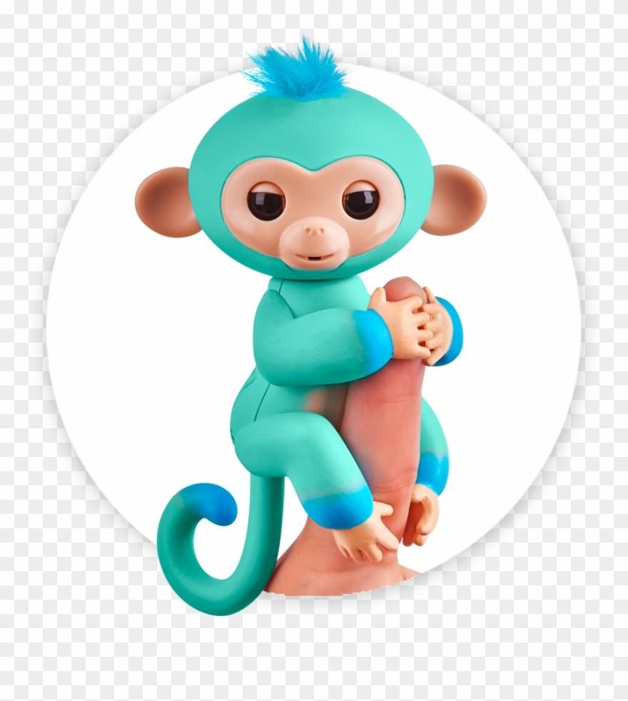 Fingerlings Monkey 2tone Ombre Eddie Clipart (#2497253.