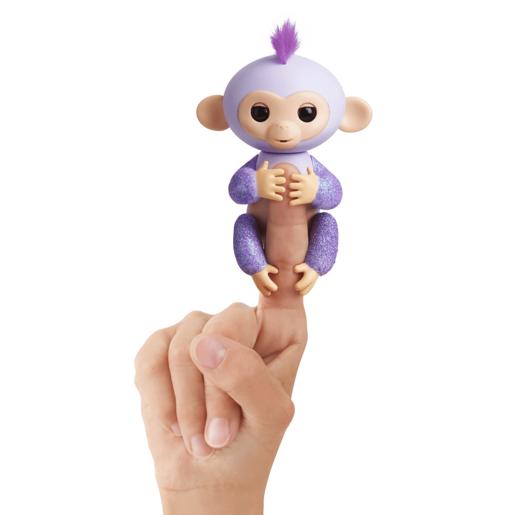 Fingerlings Glitter Baby Monkey.