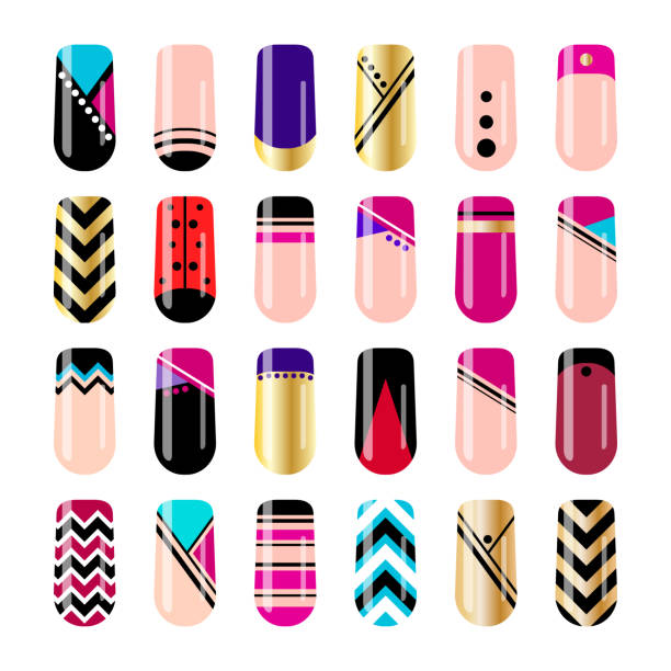 Best Fingernail Illustrations, Royalty.