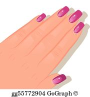 Fingernails Clip Art.