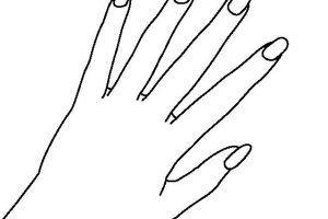 Fingernails clipart black and white 1 » Clipart Station.
