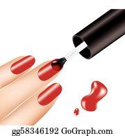 Fingernail Clip Art.
