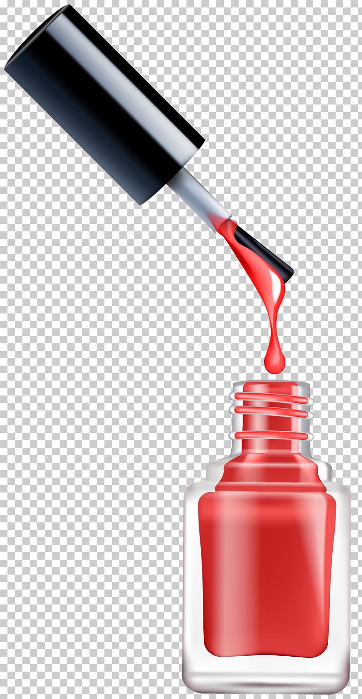 Nail polish Cosmetics Nail art , Nail Polish , opened pink.