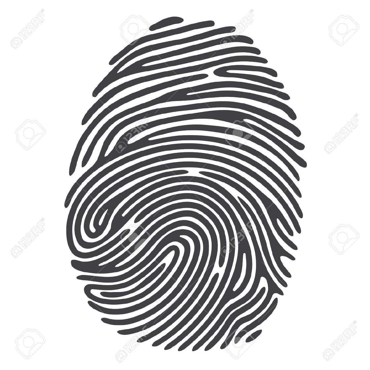 Fingerprint clipart free.