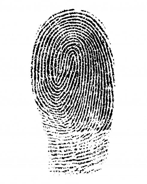 Fingerprint Clipart Free Stock Photo.