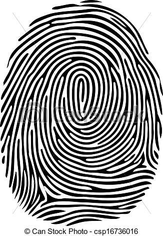 Fingerprint Clipart Page 1.