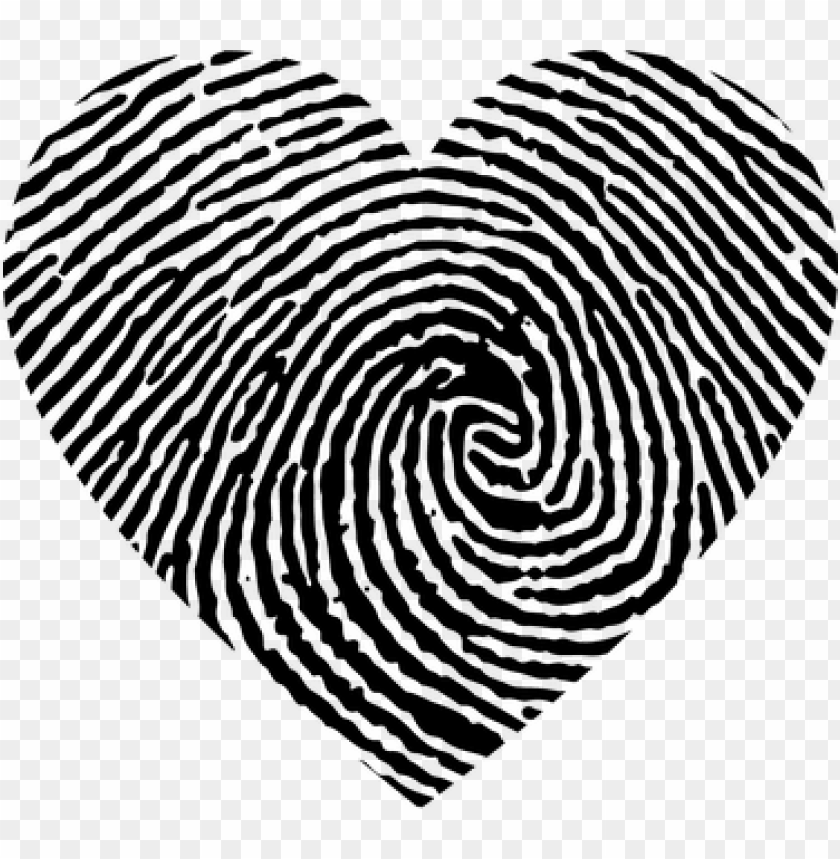 heart, love, fingerprint, swirls.