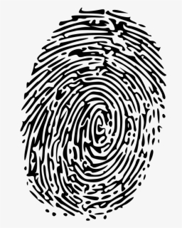 Free Fingerprint Clip Art with No Background , Page 2.