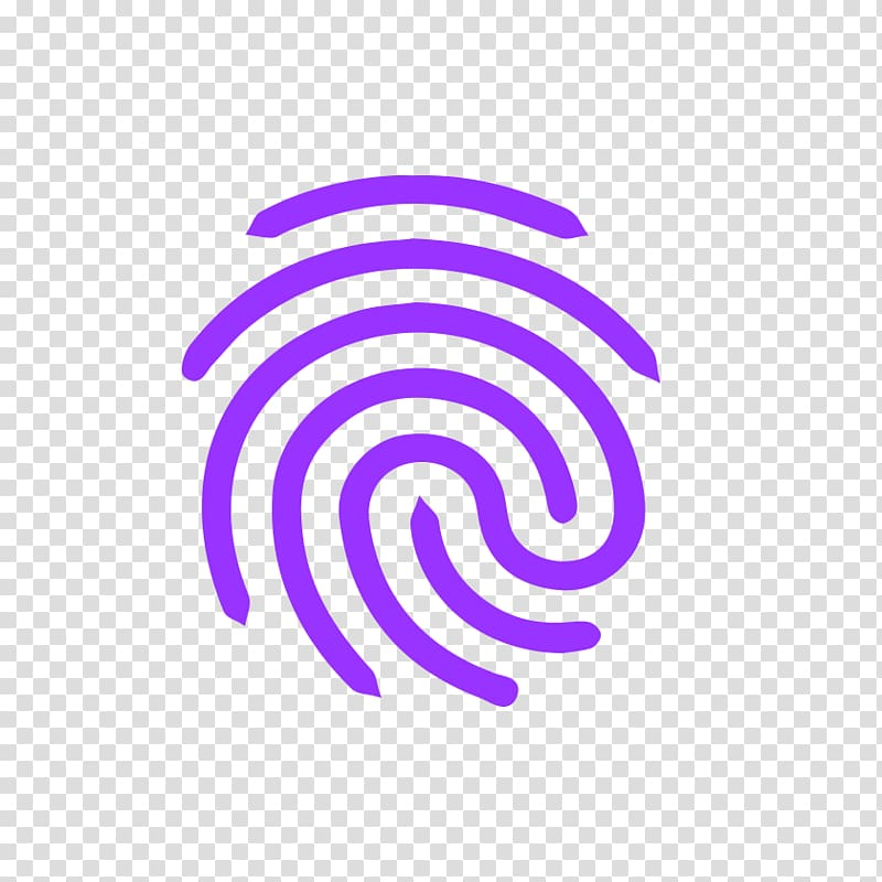 Fingerprint Android Computer Icons, printed transparent.