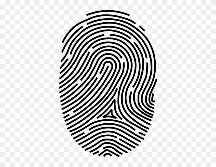 Print Fingerprint Clipart (#861970).