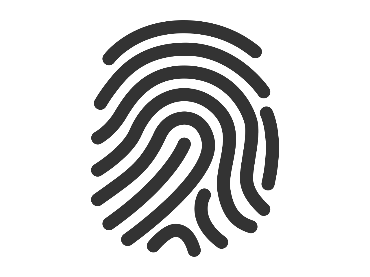 Fingerprint PNG Transparent Images.