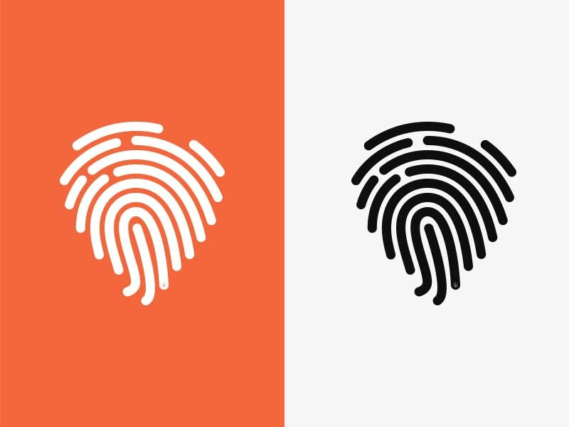 Fingerprint Logo by Marrow Melow on Dribbble.